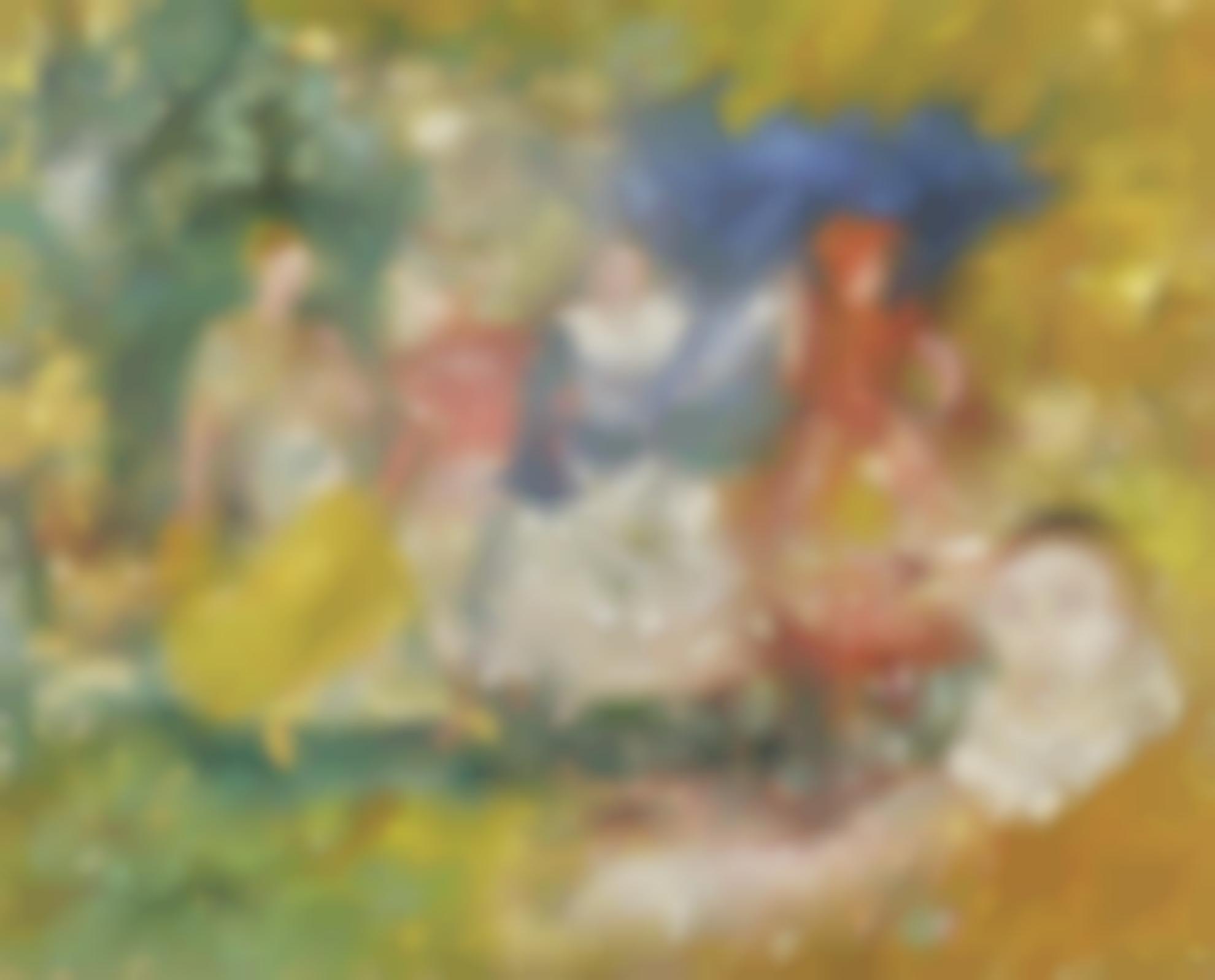 James Ensor-Les Ballerines (La Danse)-1896