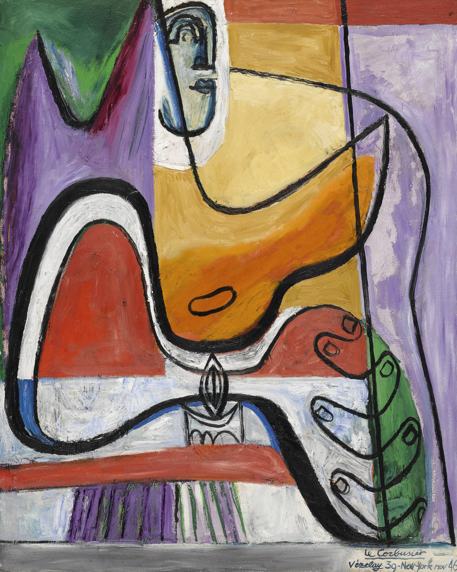 Le Corbusier-Femme A La Bougie I-1946