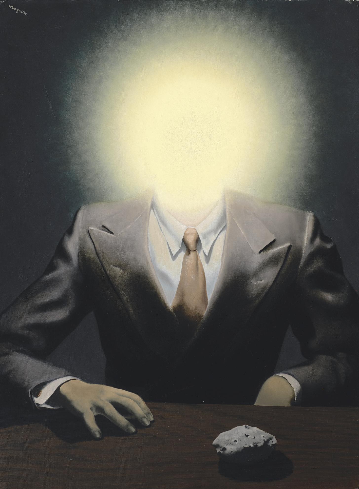 Rene Magritte-Le Principe Du Plaisir-1937