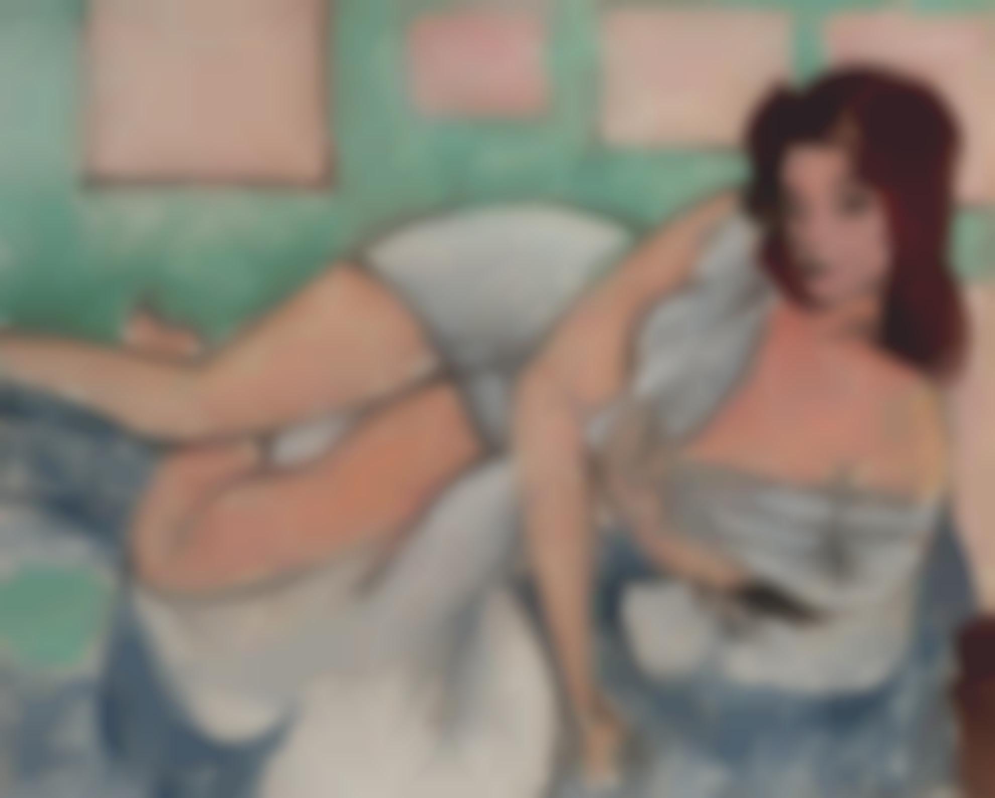 Henri Matisse-Nu Au Peignoir-1941