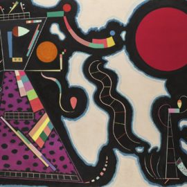 Wassily Kandinsky-Le Rond Rouge-1939