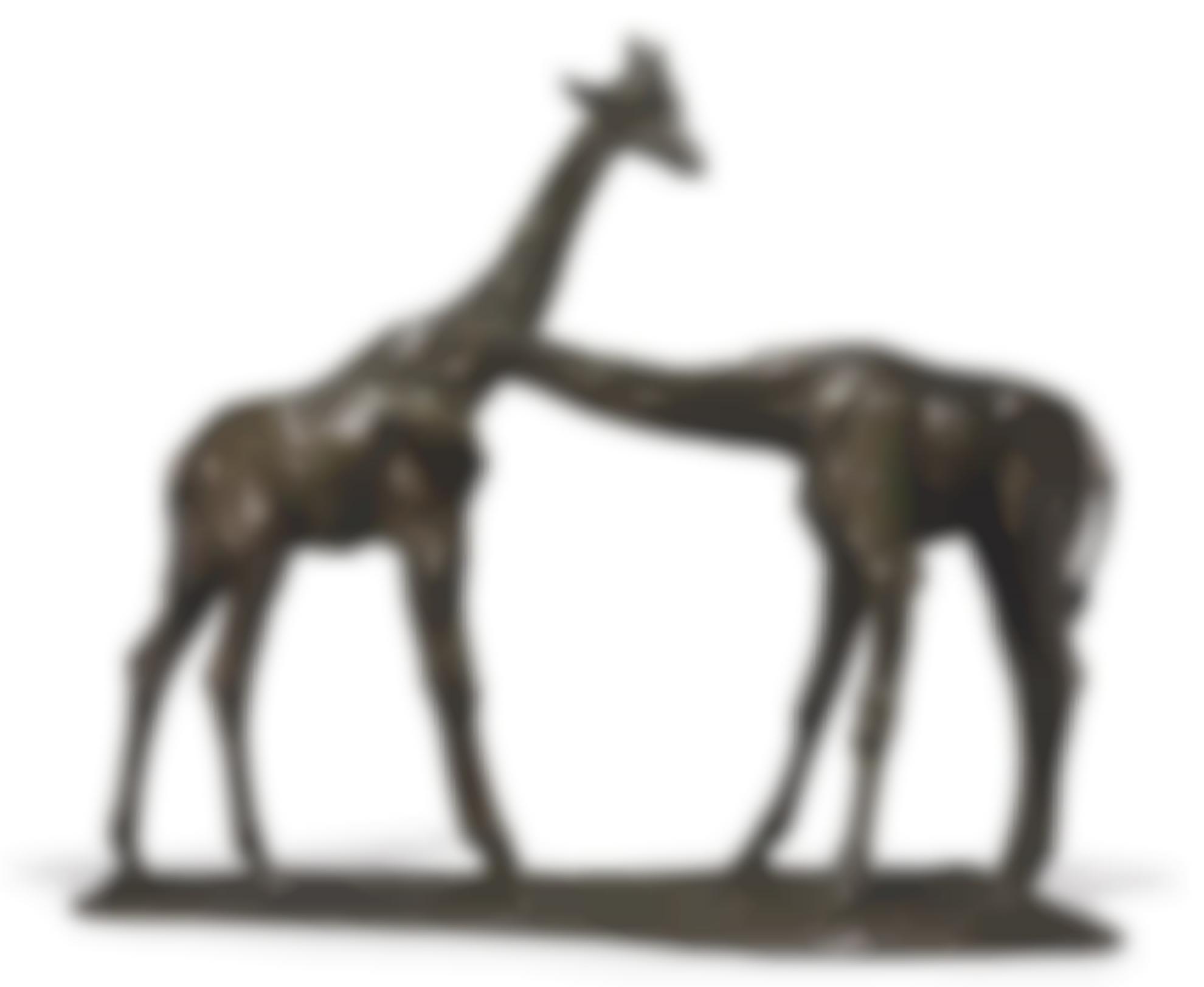 Rembrandt Bugatti-Deux Girafes-1907