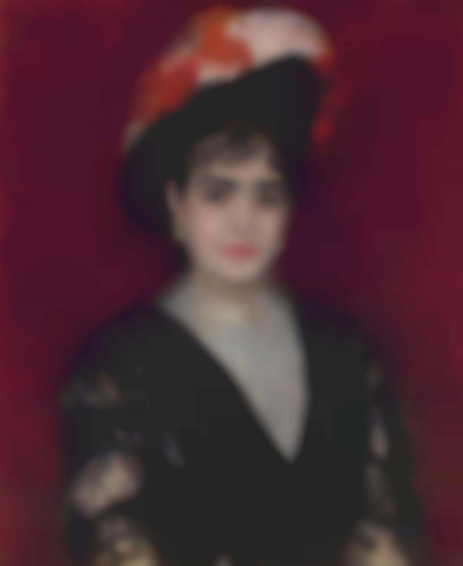 Pierre-Auguste Renoir-Portrait De Madame Adela Ocampo De Heimendhal-1880