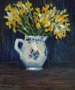 Pablo Picasso-Iris Jaunes-1901