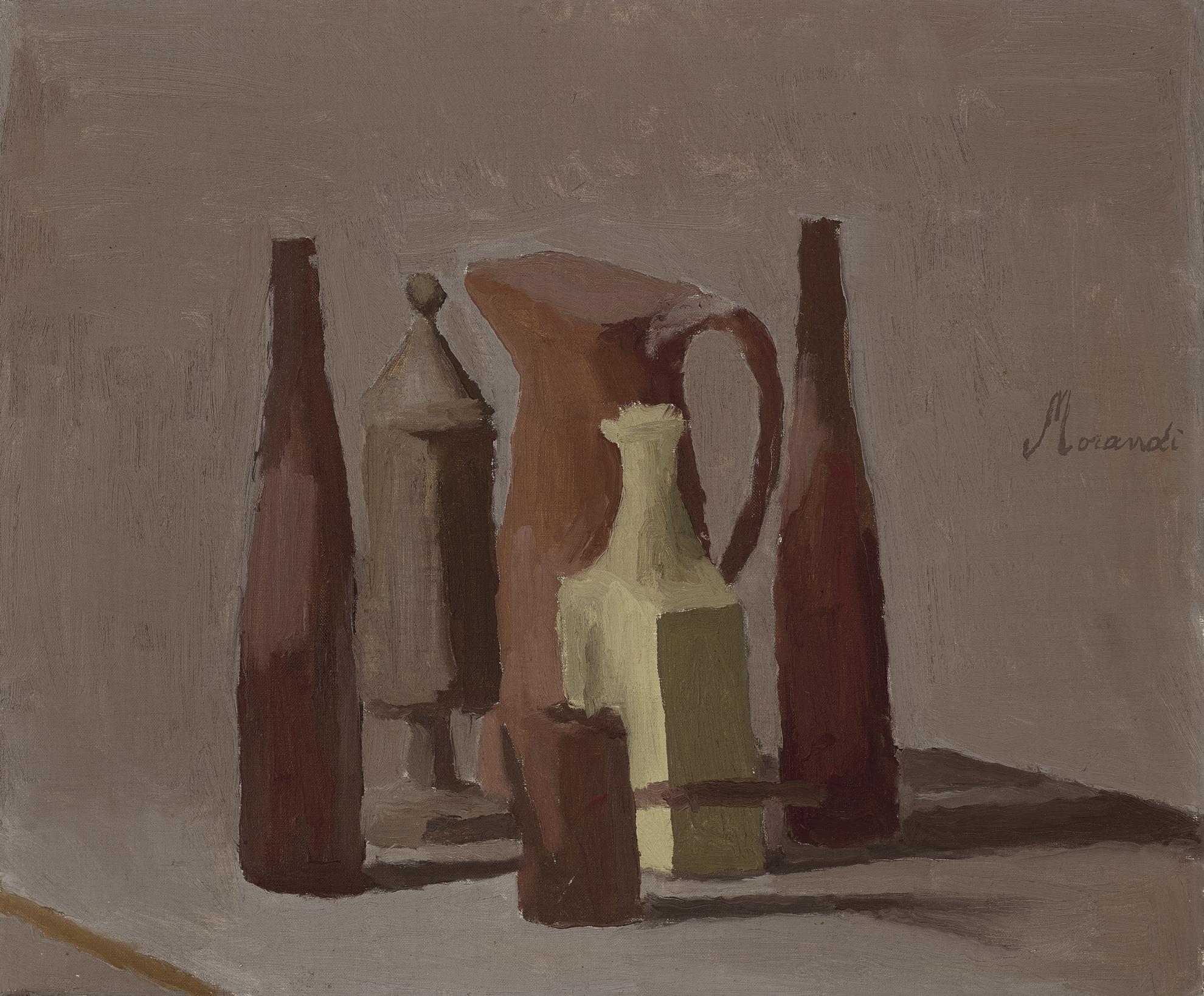 Giorgio Morandi-Natura Morta (Still Life)-1939