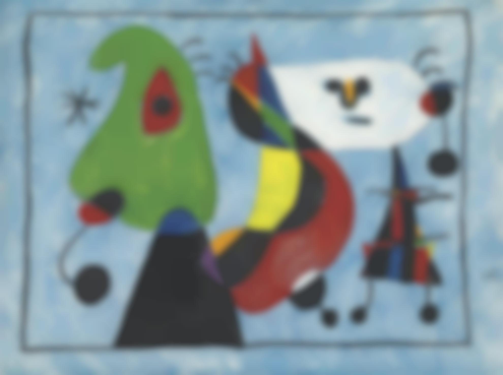 Joan Miro-Sans Titre-1947