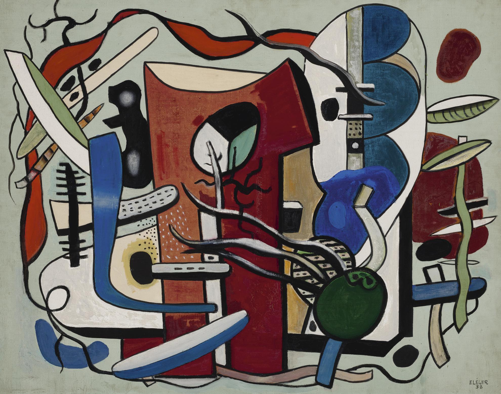 Fernand Leger-Composition-1939
