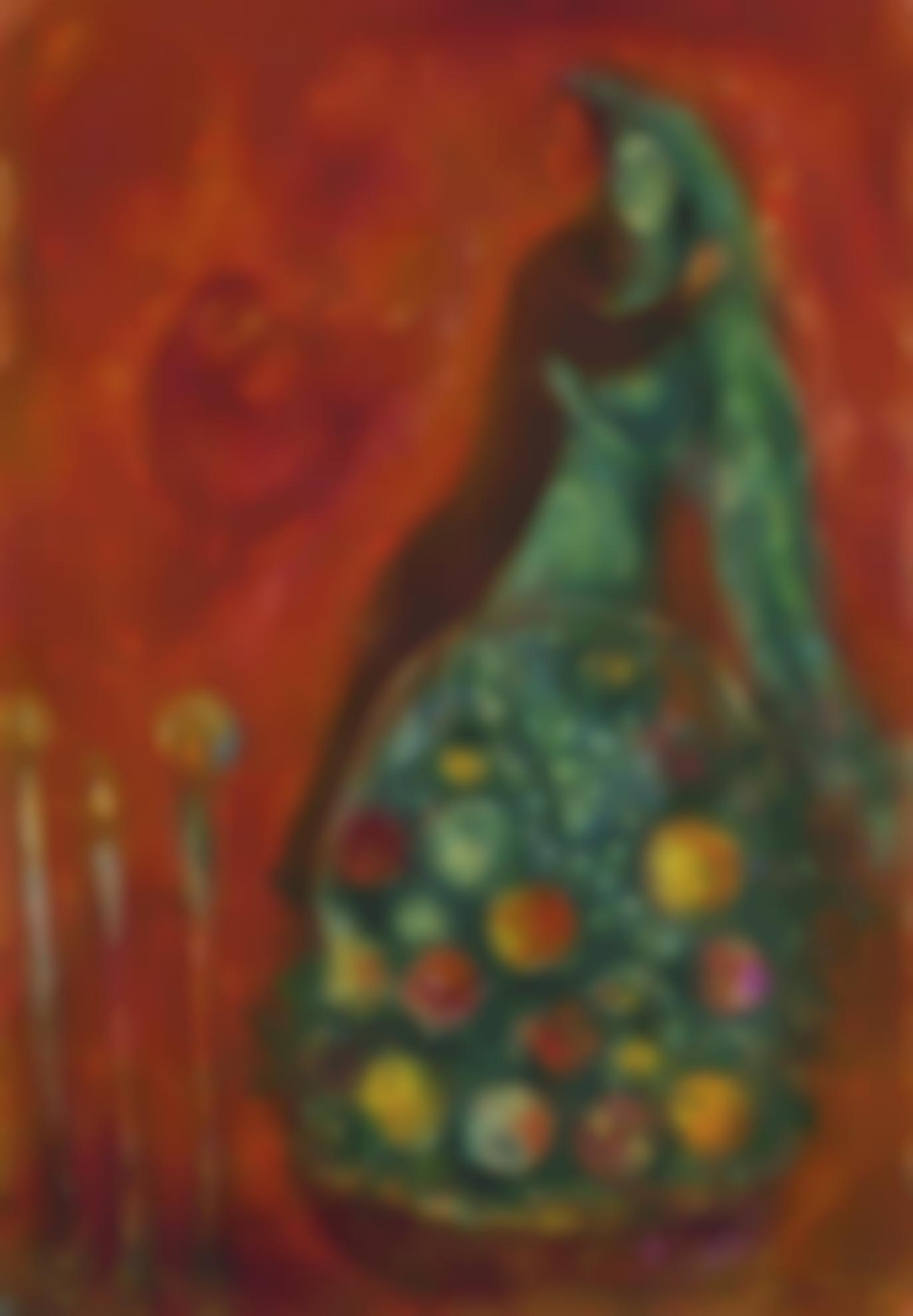 Marc Chagall-Les Fruits Enchantes-1945
