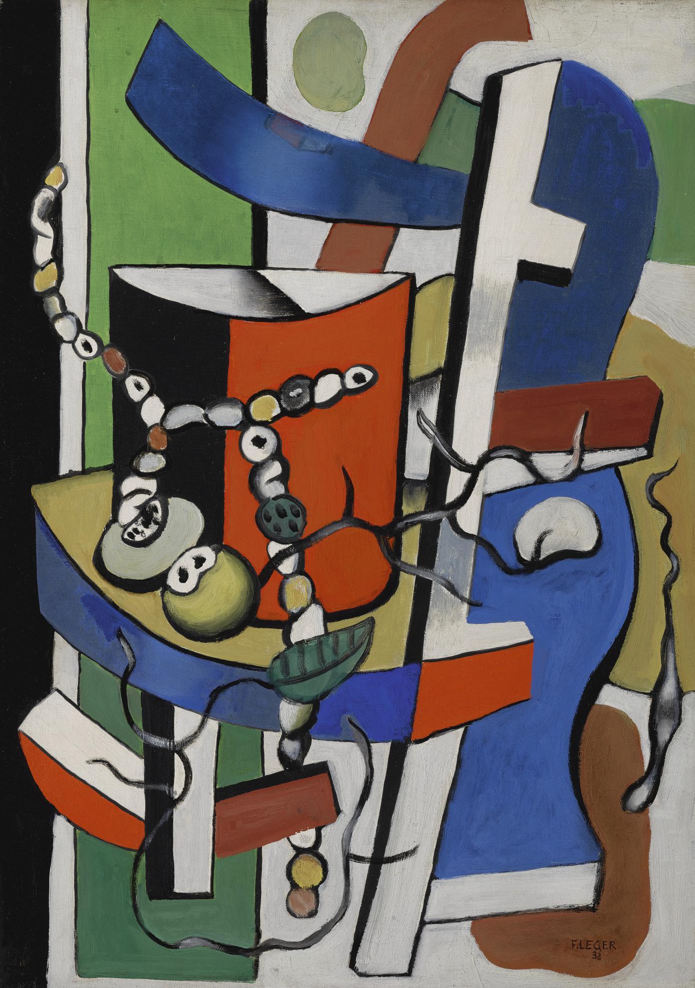 Fernand Leger-Le Vase Rouge-1938