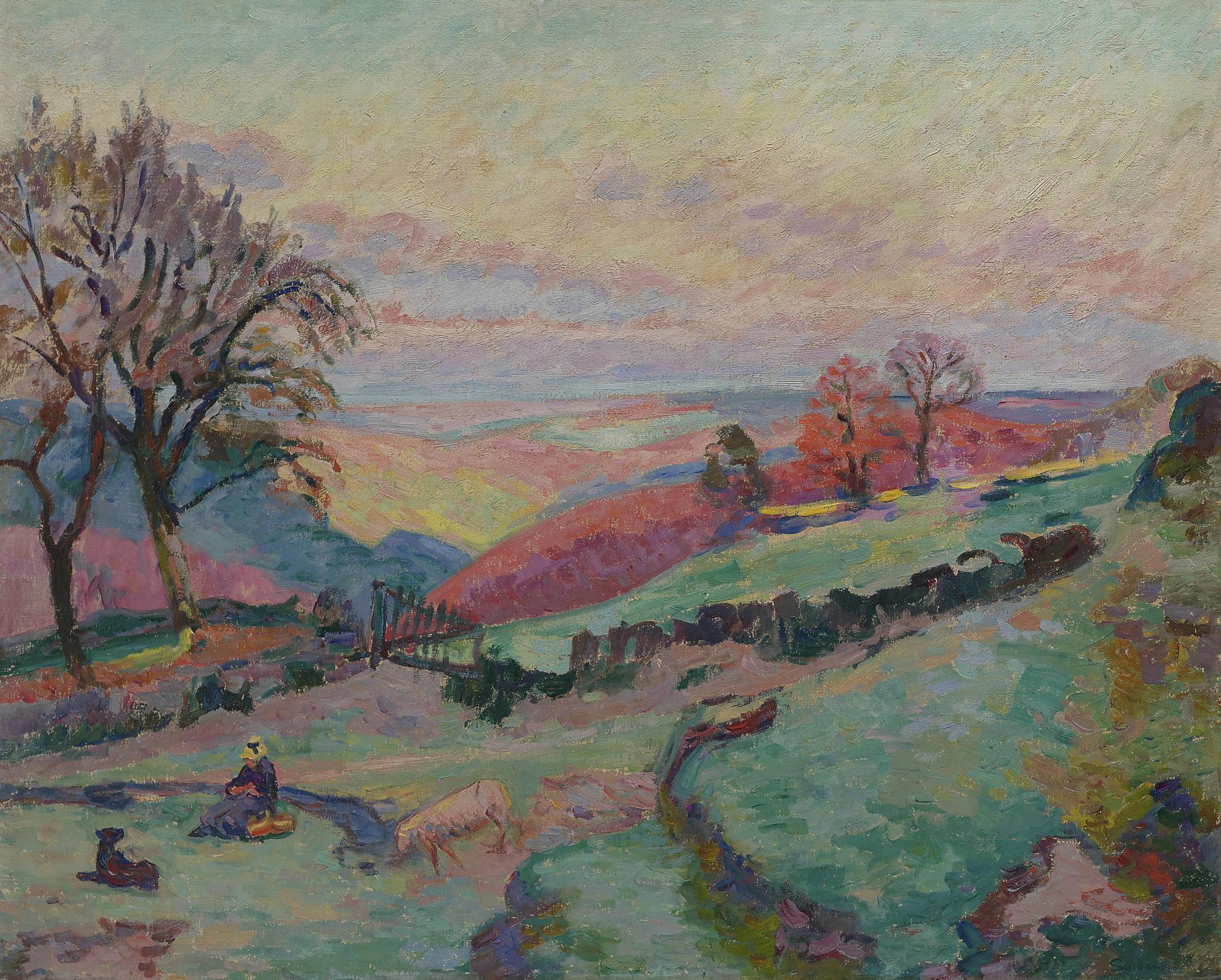 Jean-Baptiste Armand Guillaumin-Crozant-1900