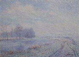 Gustave Loiseau-Gelee Blanche, Rives De Leure, Saint Cyr Du Vaudreuil