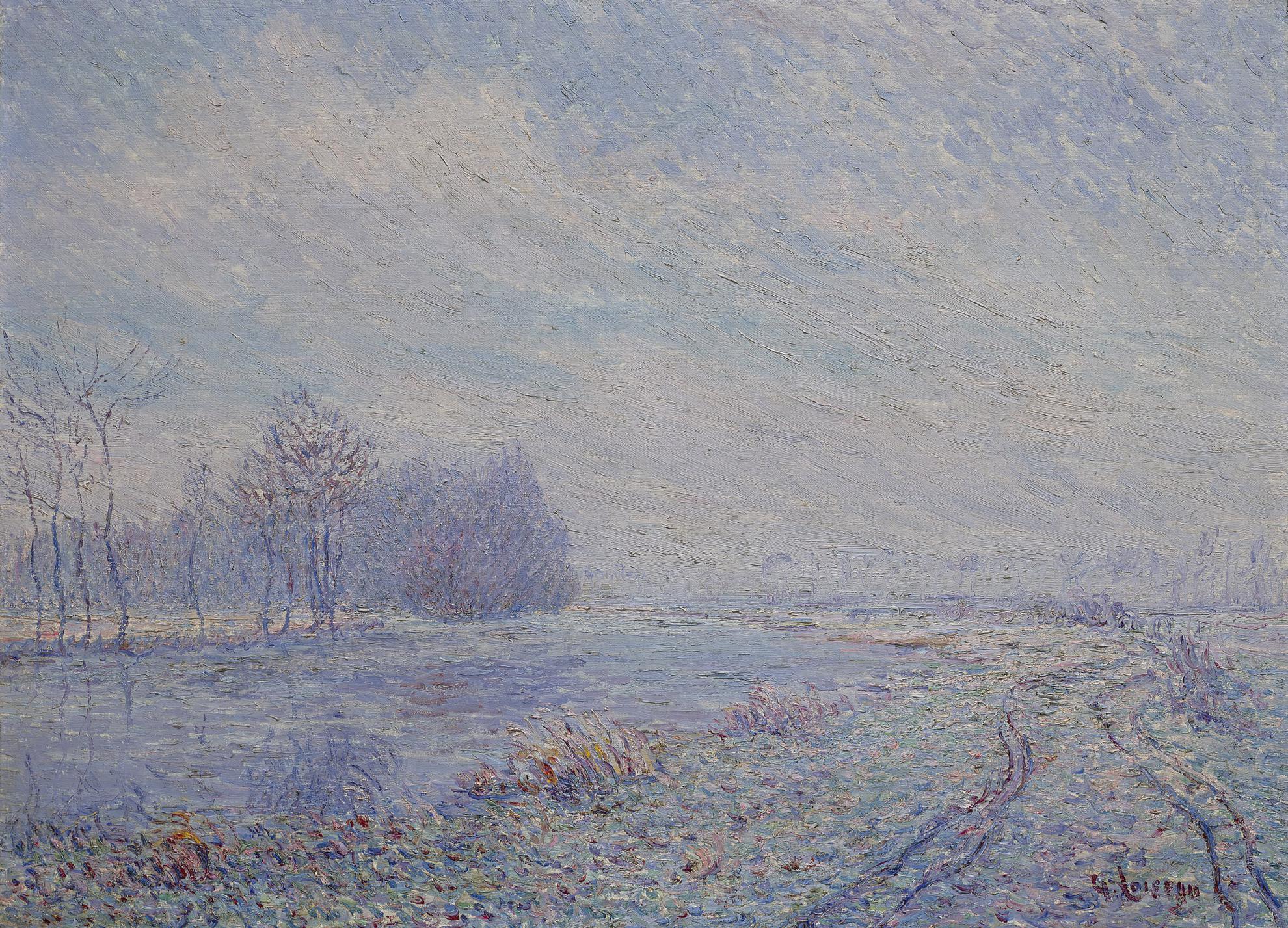 Gustave Loiseau-Gelee Blanche, Rives De Leure, Saint Cyr Du Vaudreuil-