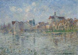 Gustave Loiseau-Moret-Sur-Loing
