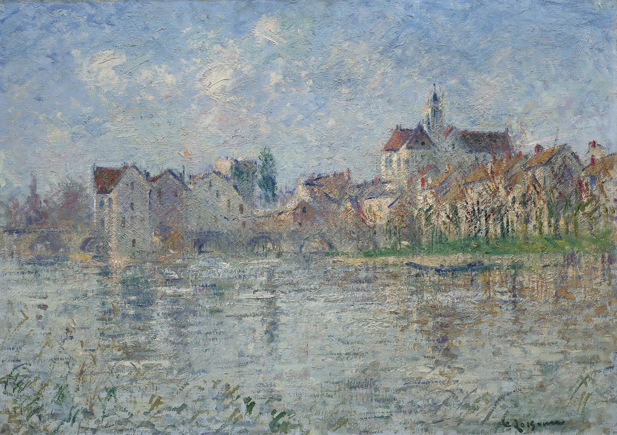 Gustave Loiseau-Moret-Sur-Loing-