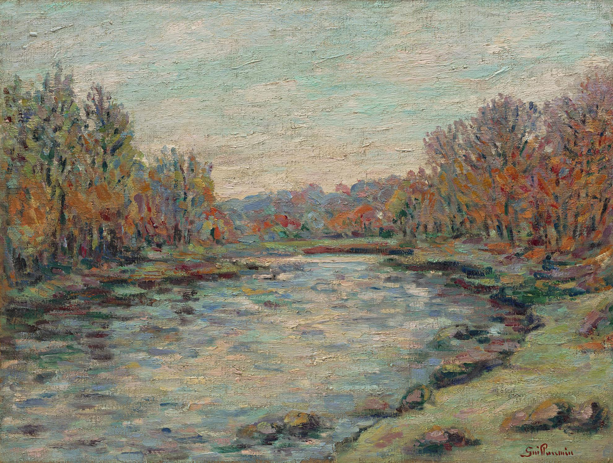 Jean-Baptiste Armand Guillaumin-Barrage De Genetin-1900