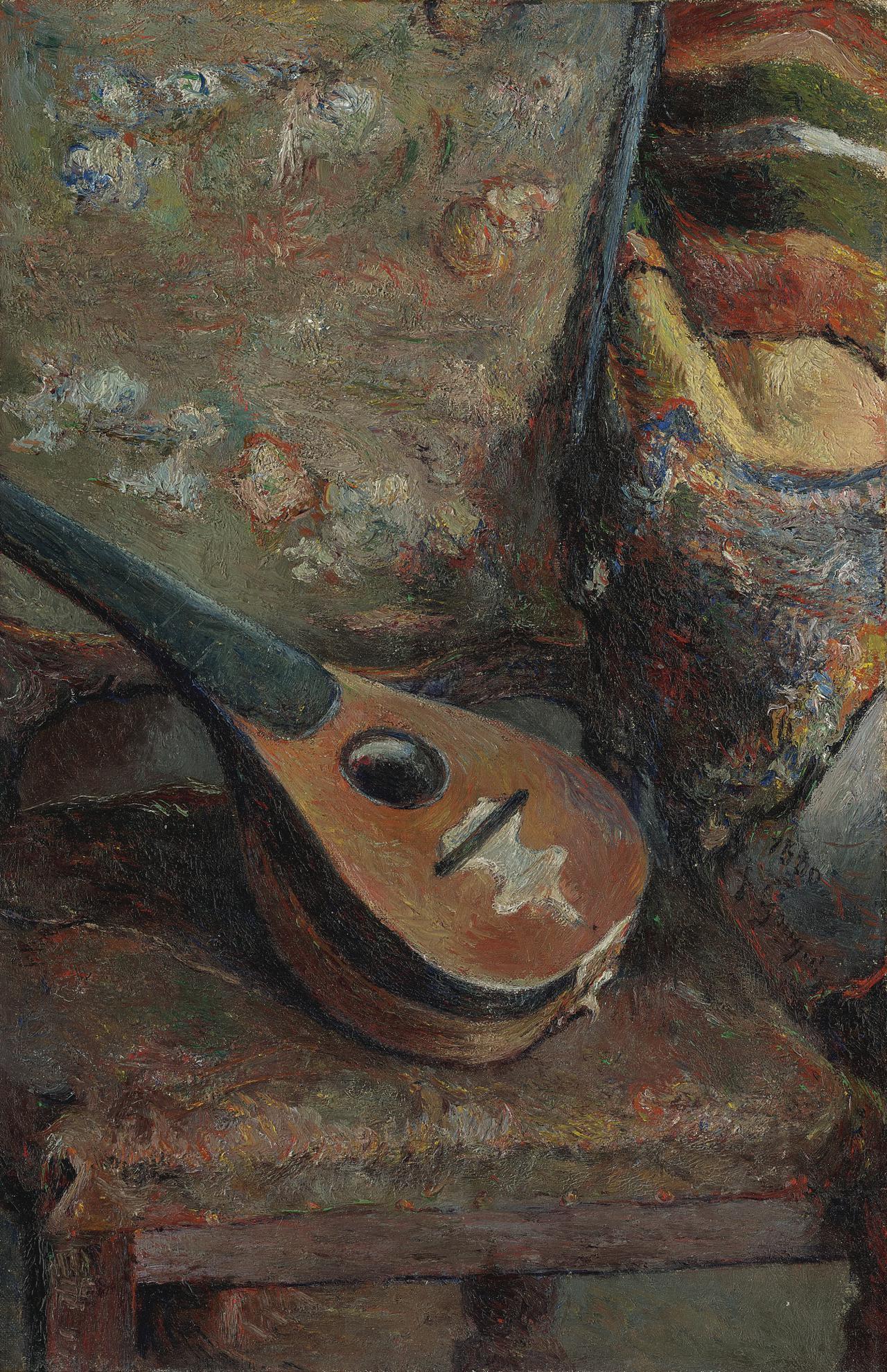 Paul Gauguin-Sur Une Chaise-1880