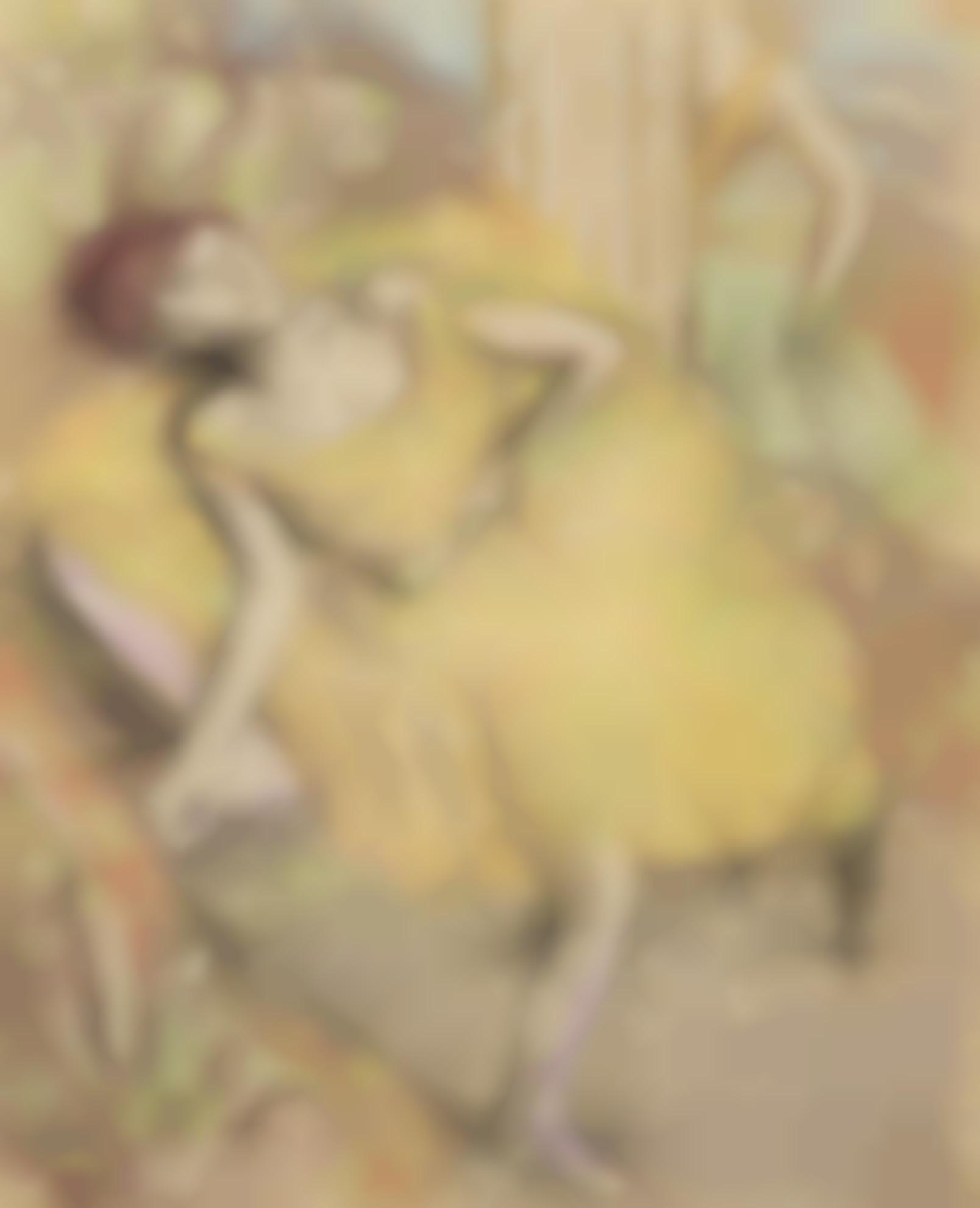 Edgar Degas-Danseuse Au Repos-1900
