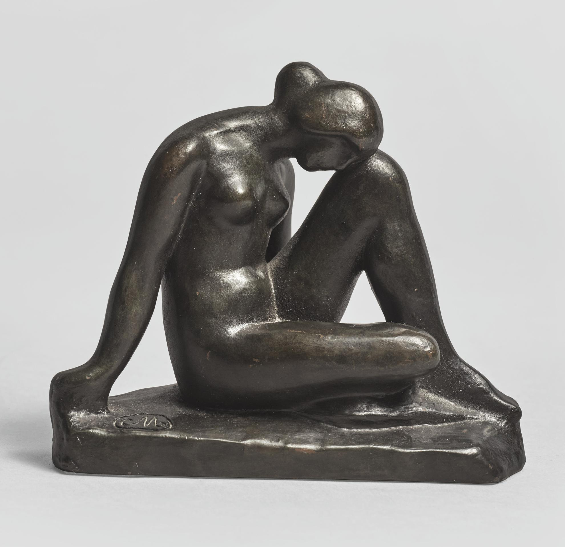 Aristide Maillol-Etude Pour La Mediterranee-1952