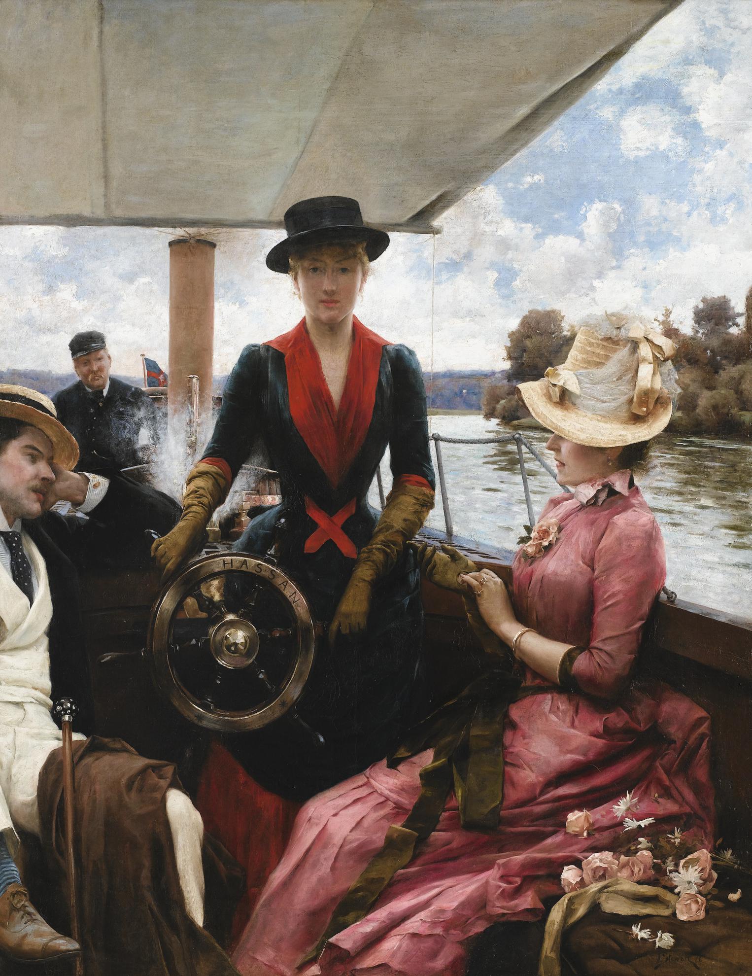 Julius Leblanc Stewart - Full Speed-1886