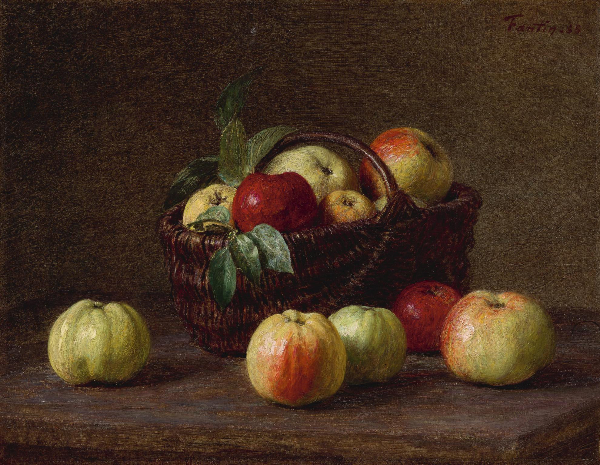 Henri Fantin-Latour-Pommes-1888