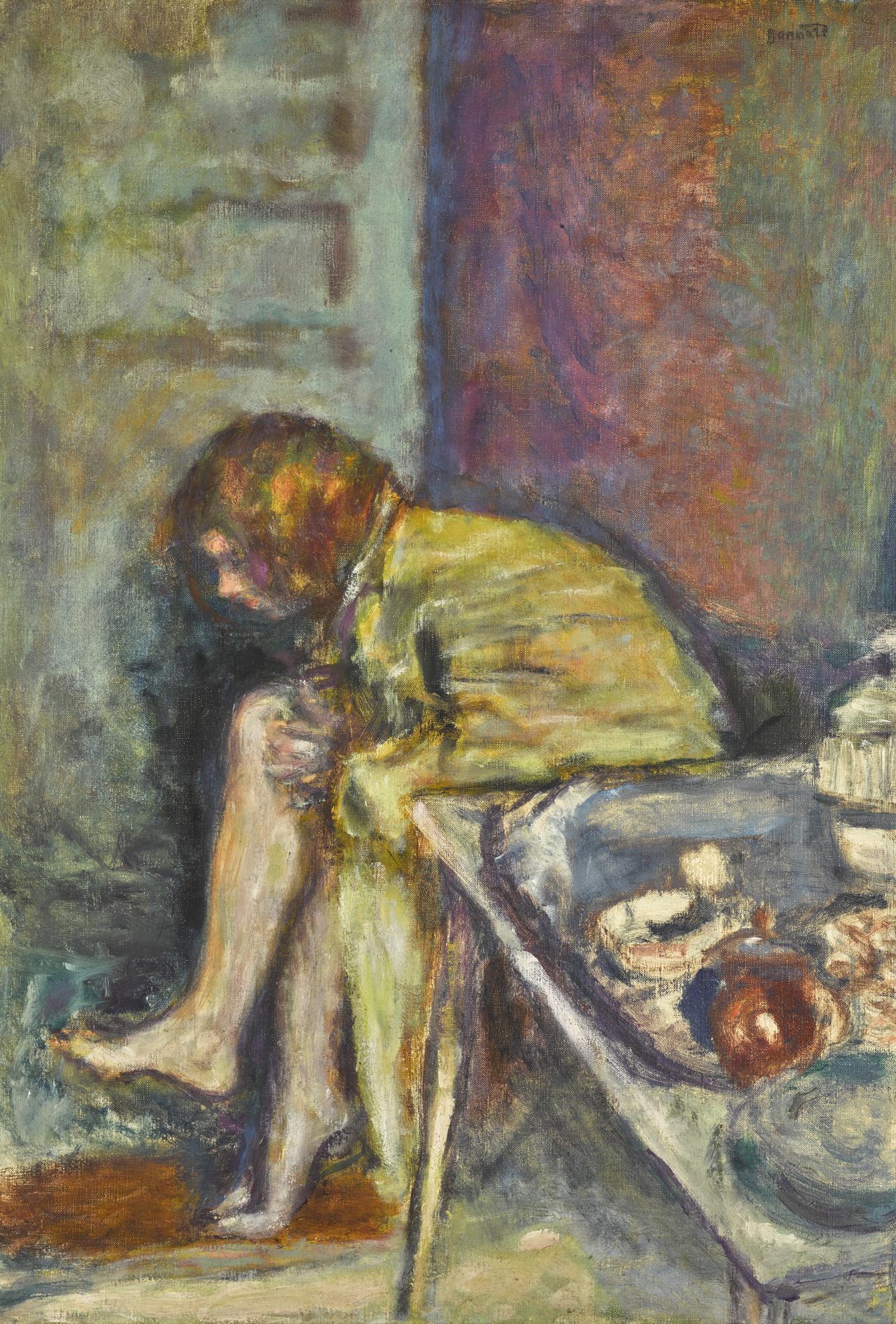 Pierre Bonnard-Jeune Femme Assise-1915
