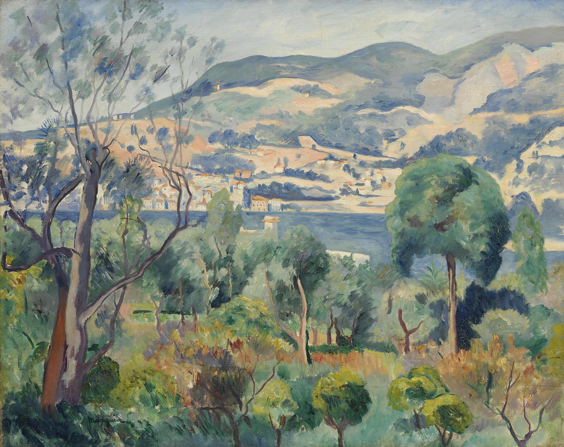 Henri Charles Manguin-Rade De Villefranche-1913