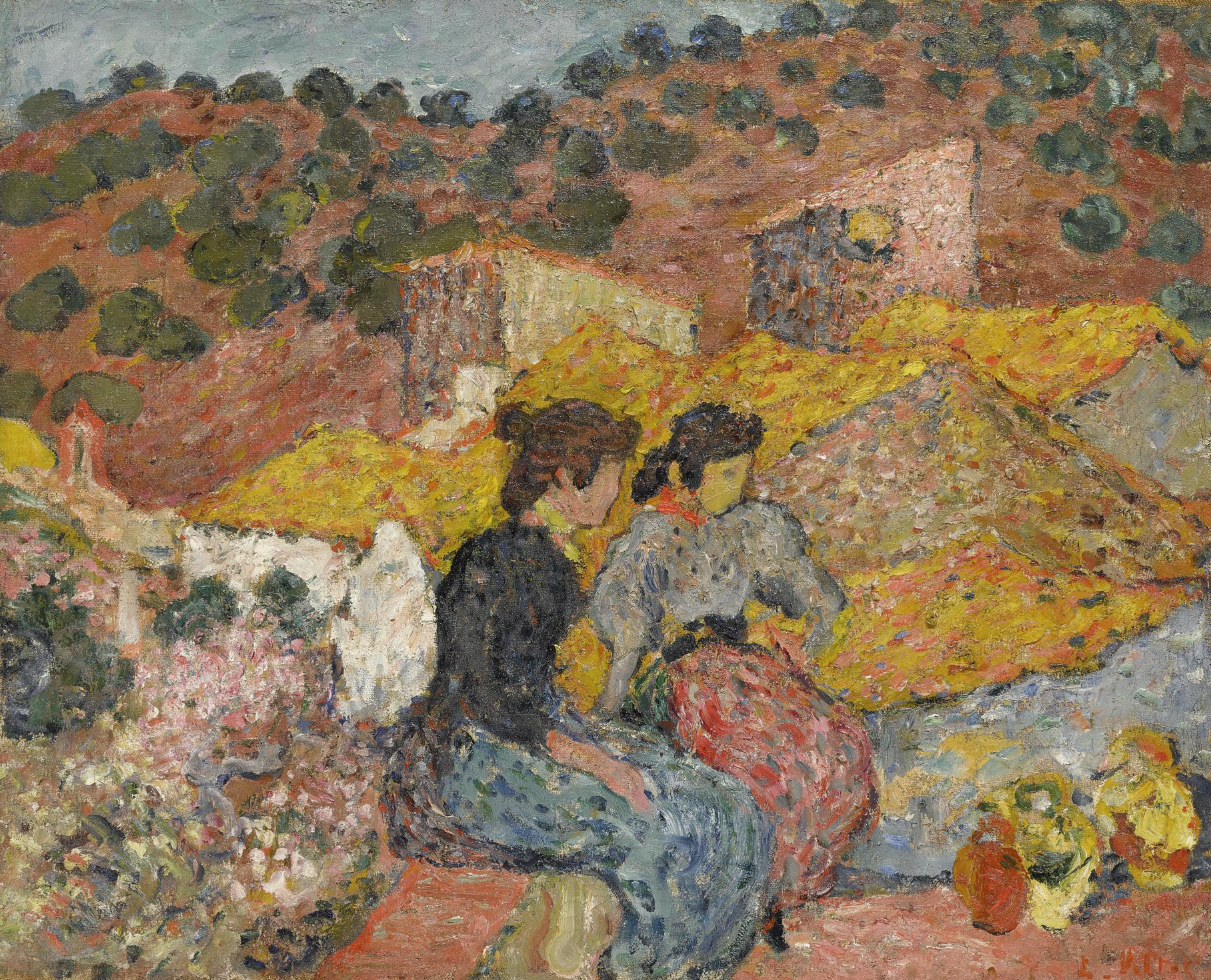 Louis Valtat-Espagnoles A La Fontaine-1895