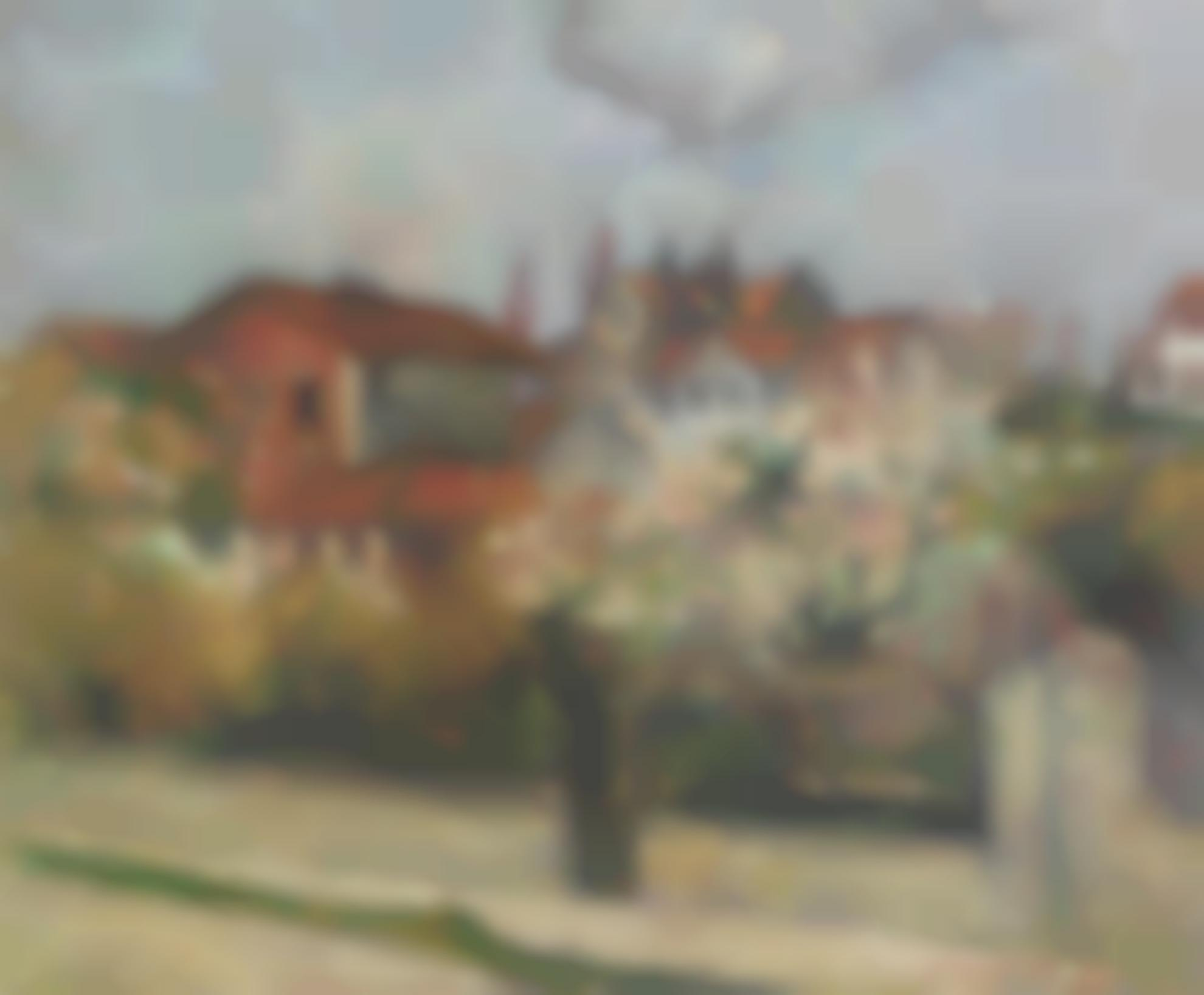 Emile Bernard-Jardin En Fleur A Asineres-1889