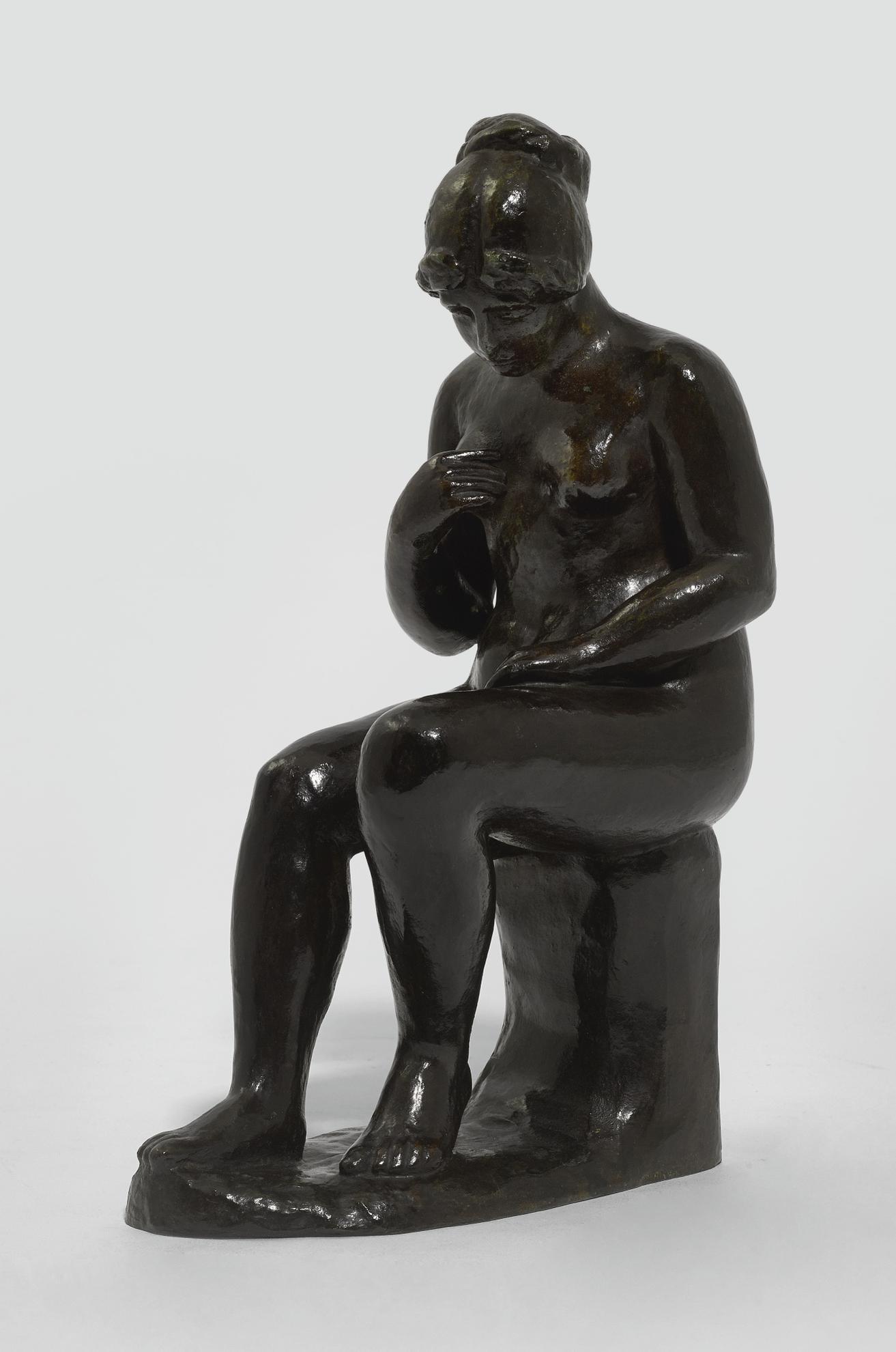 Aristide Maillol-Femme Assise-1902