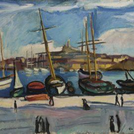 Charles Camoin-Le Port De Marseille-1906