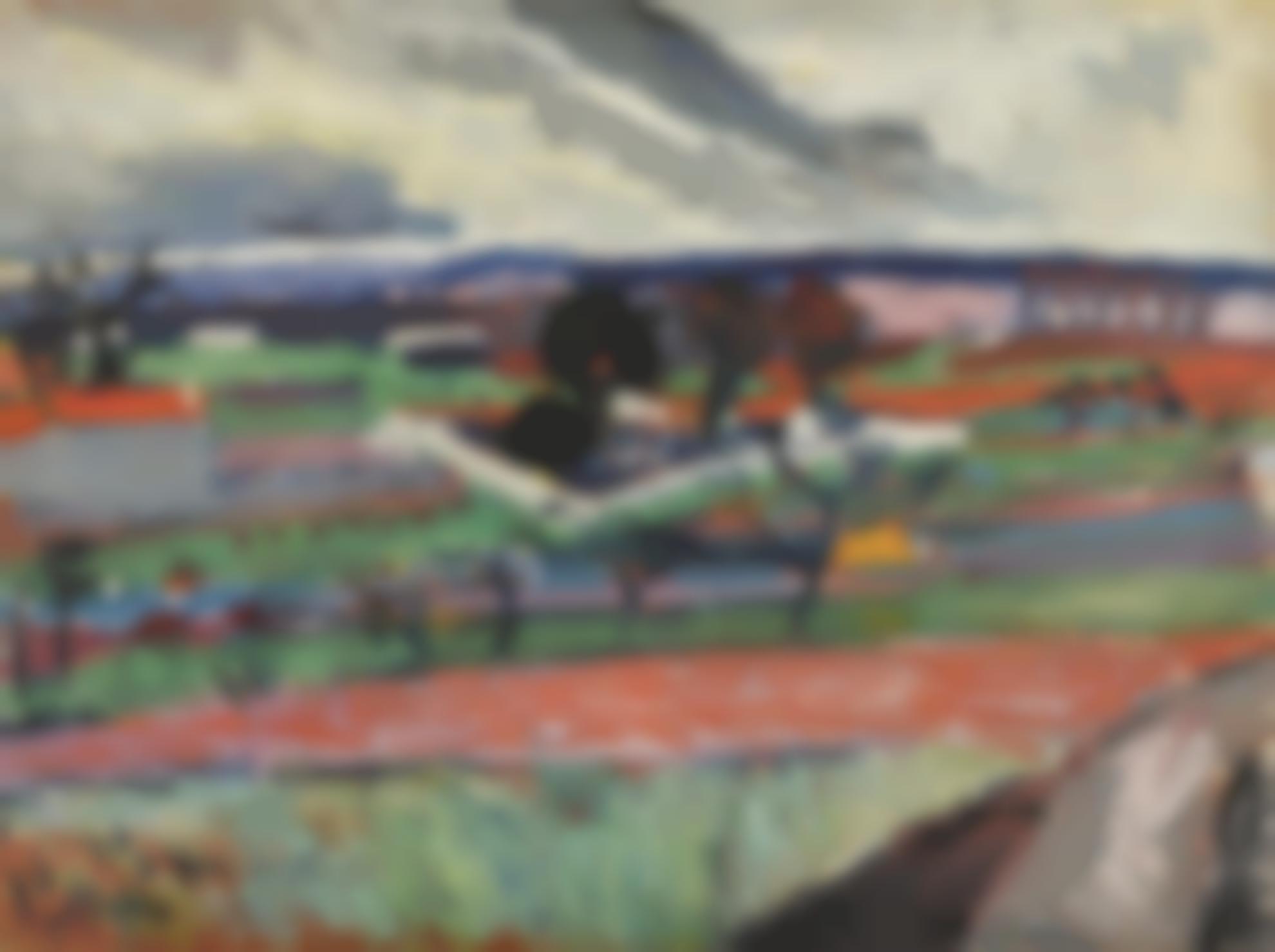 Andre Derain-Paysage De Lile-De-France-1904