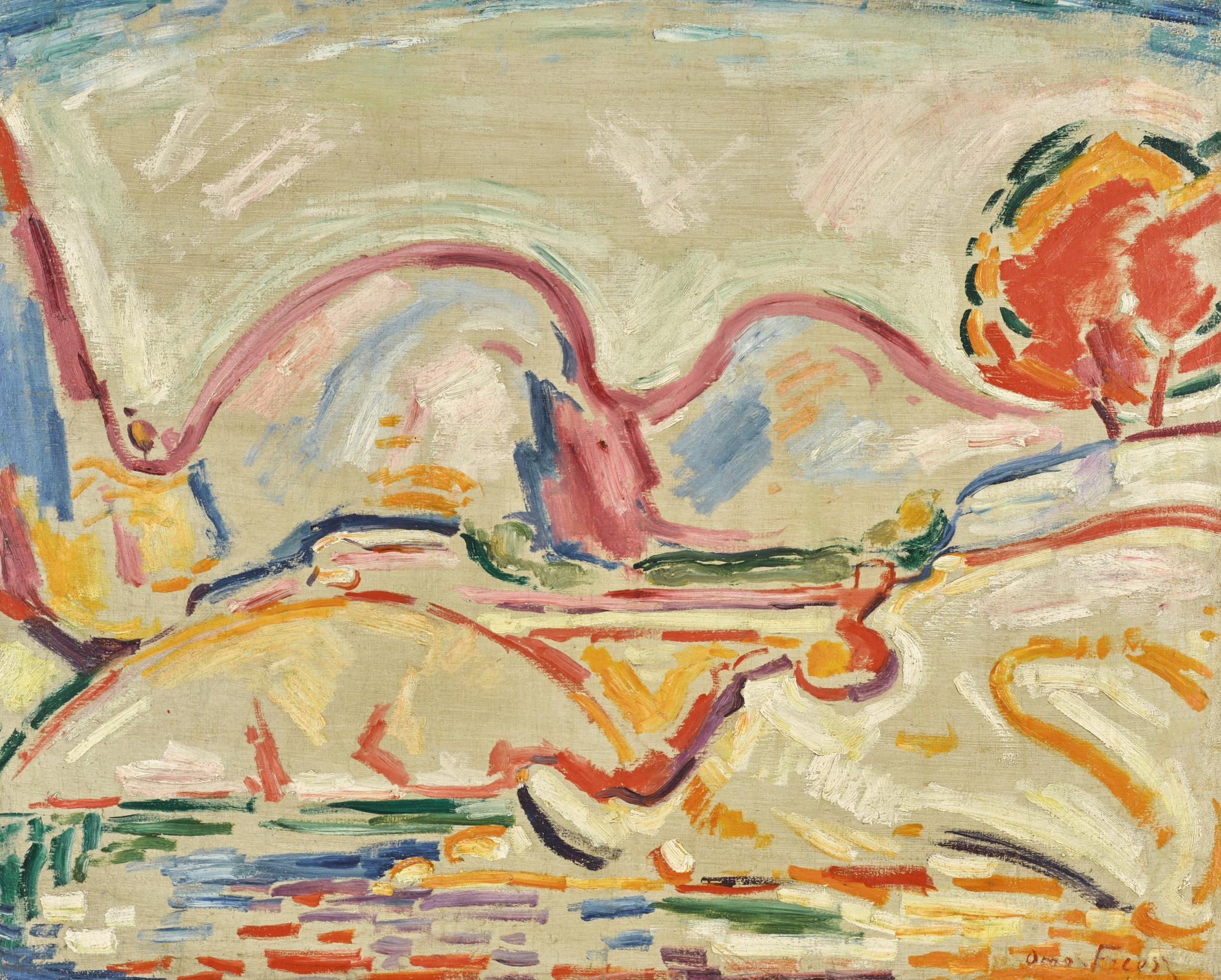 Othon Friesz-La Ciotat-1907
