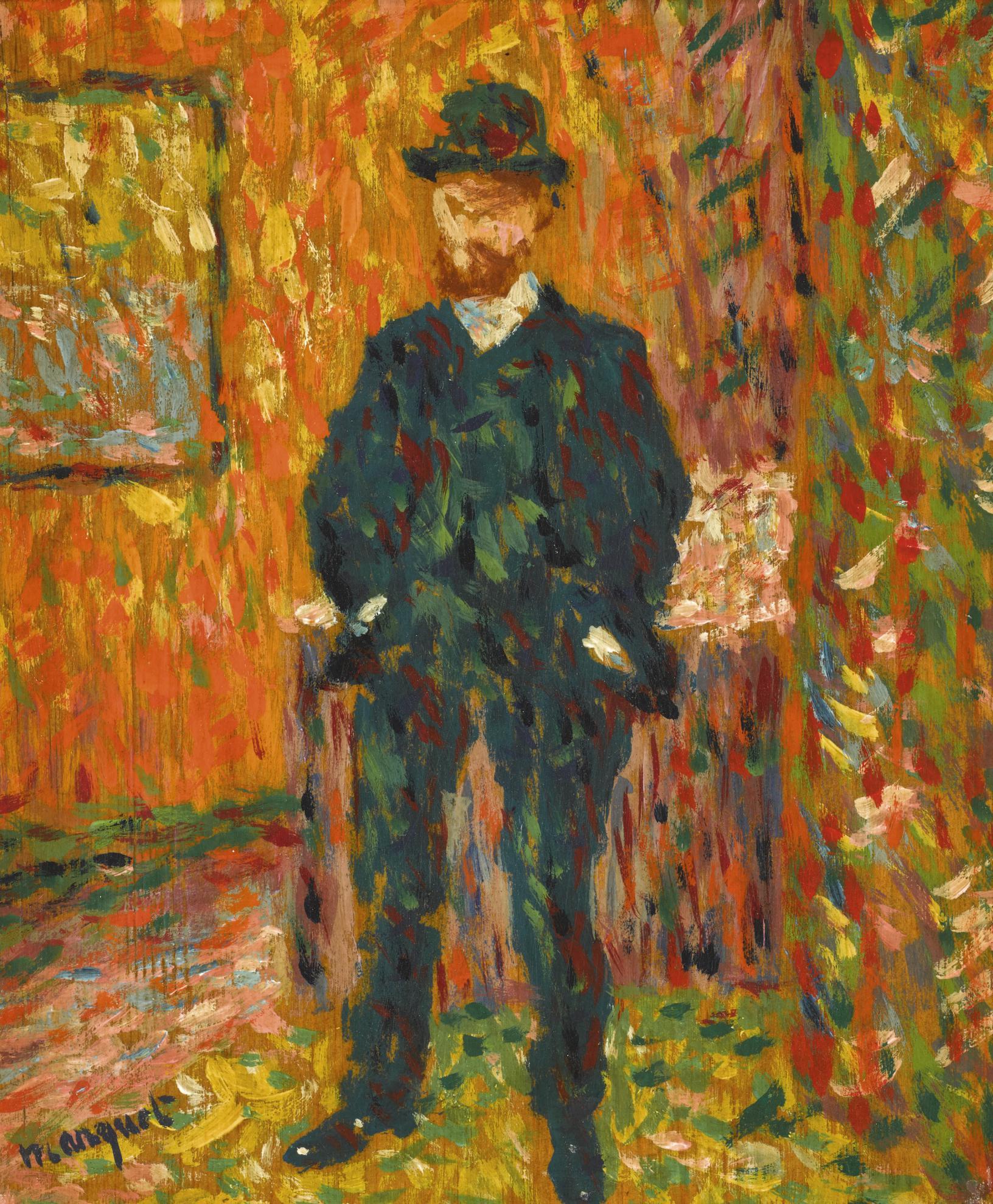 Albert Marquet-Portrait Dandre Rouveyre-1904