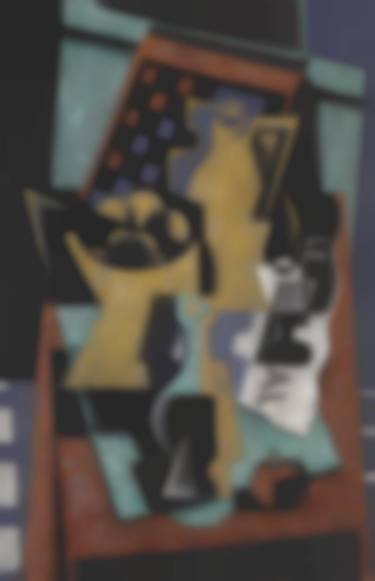 Jean Metzinger-Nature Morte Au Damier Et Au Journal-1926