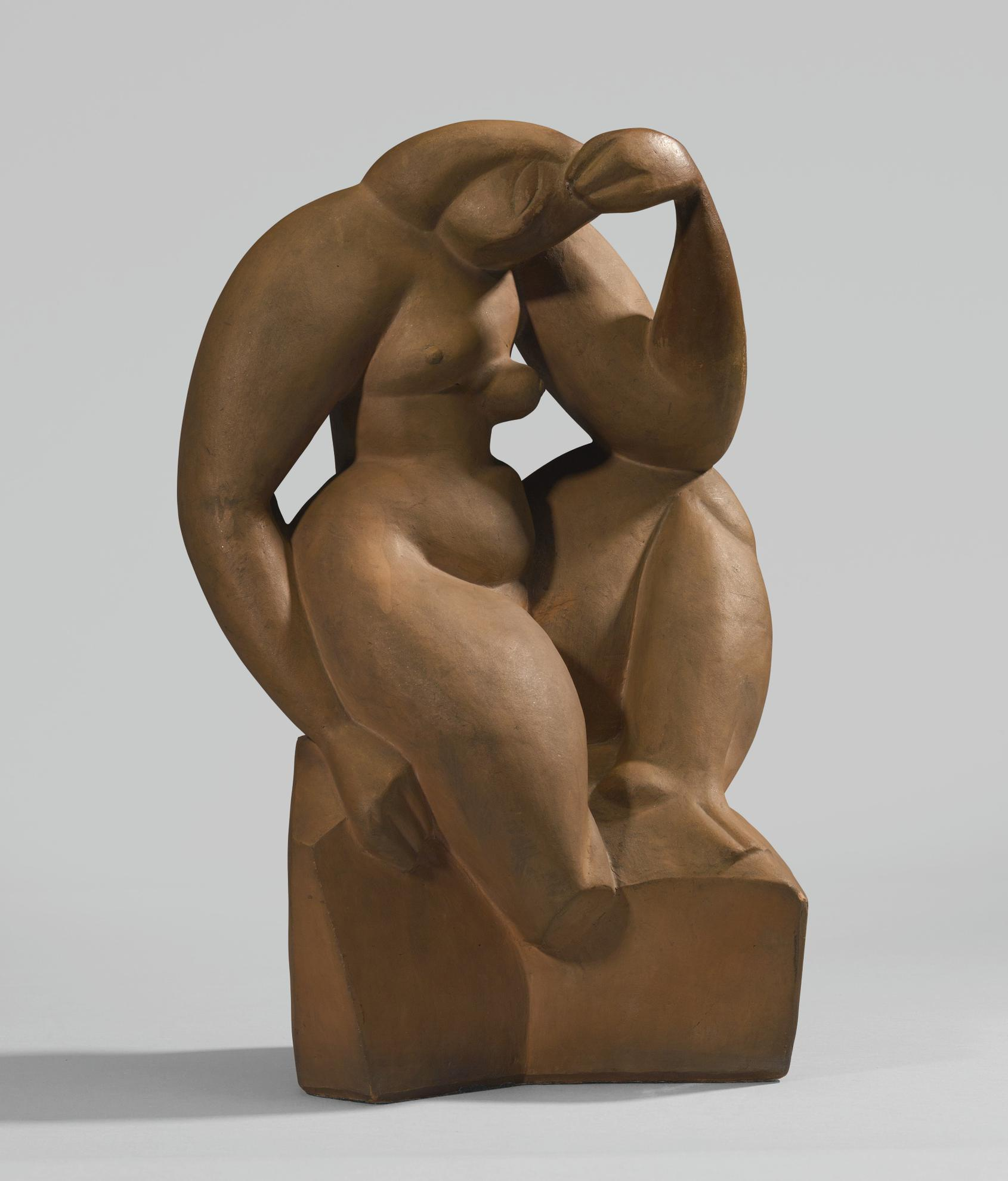 Alexander Archipenko-Femme Assise-1912