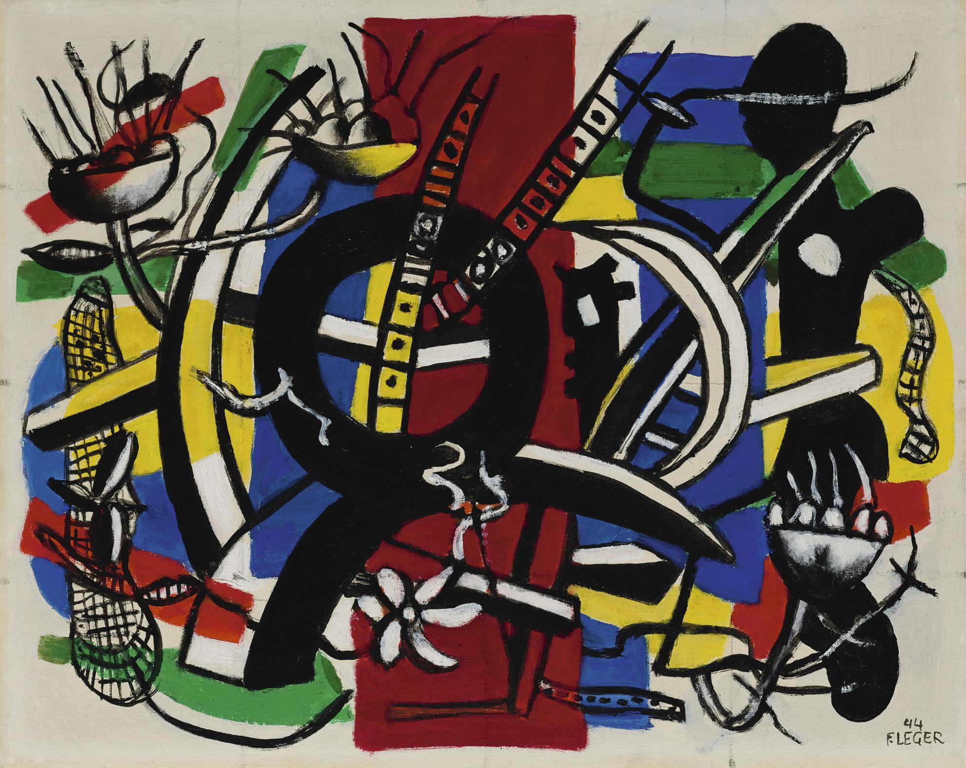 Fernand Leger-La Roue Noire, 1Er Etat-1944