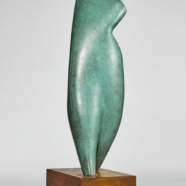Alexander Archipenko-Walking Torso-1963