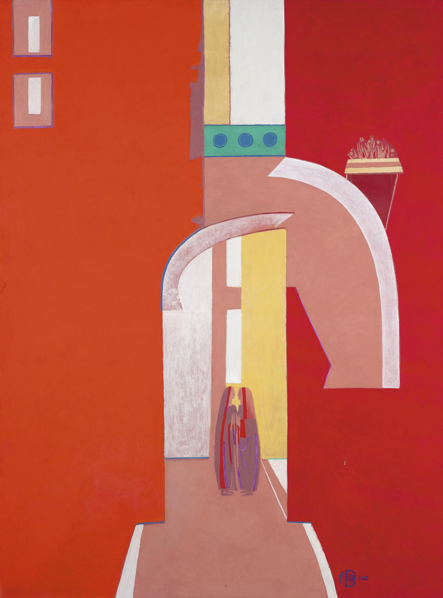 Francoise Gilot-The Visit-1985