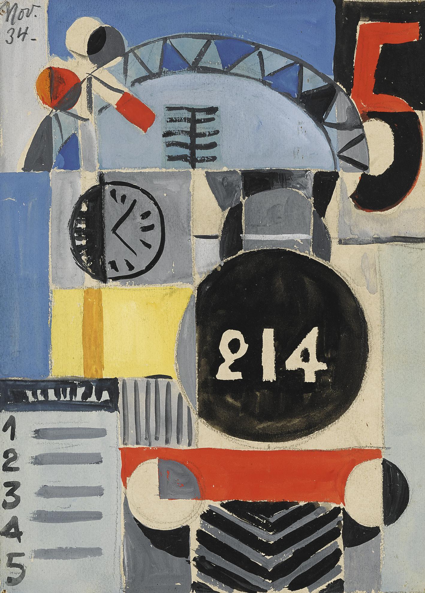 Hector Ragni - Locomotora 214-1934