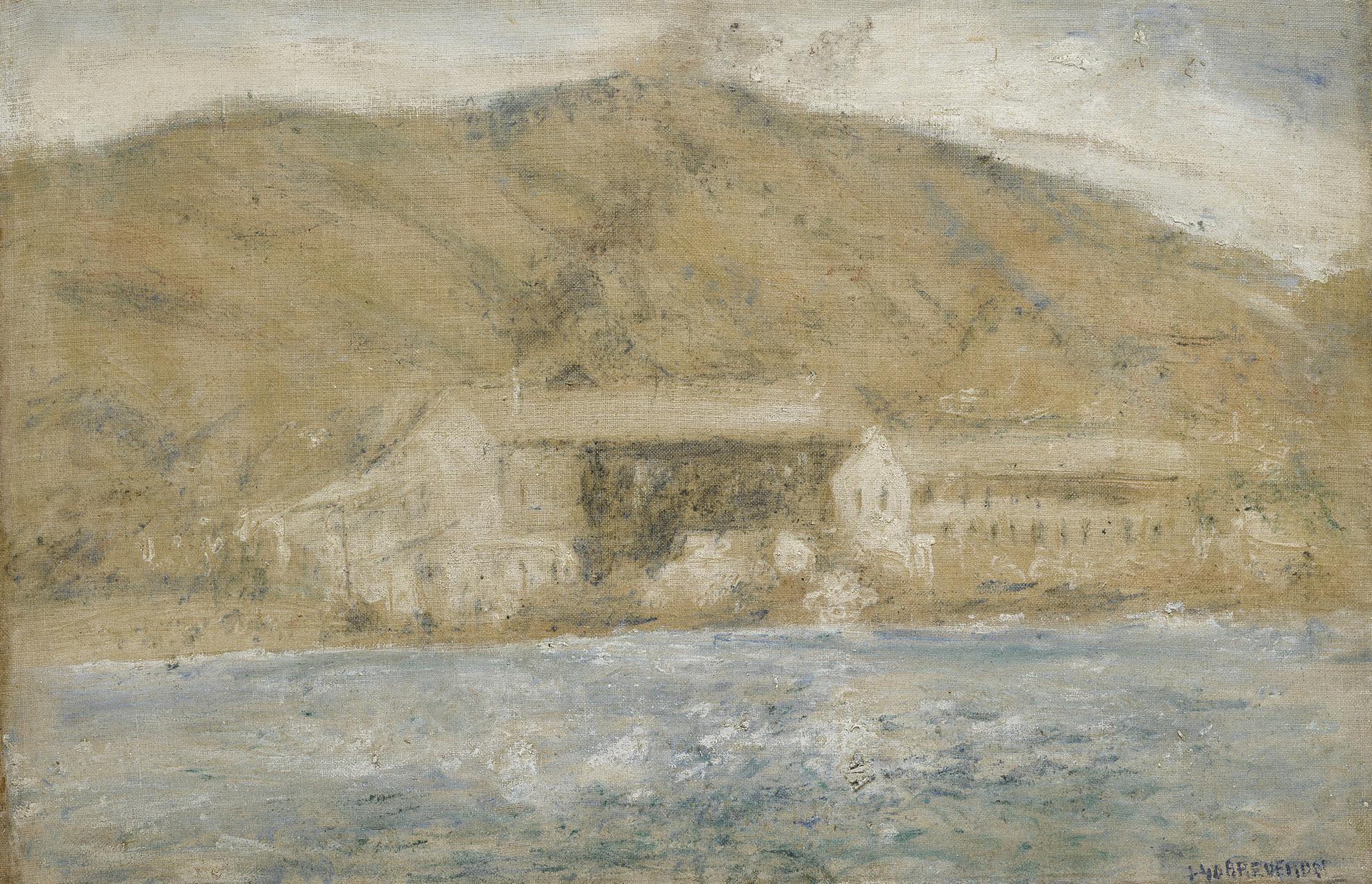 Armando Reveron-Puerto Cerca De La Guaira-1940