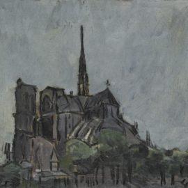 Joaquin Torres-Garcia-Notre Dame-1945
