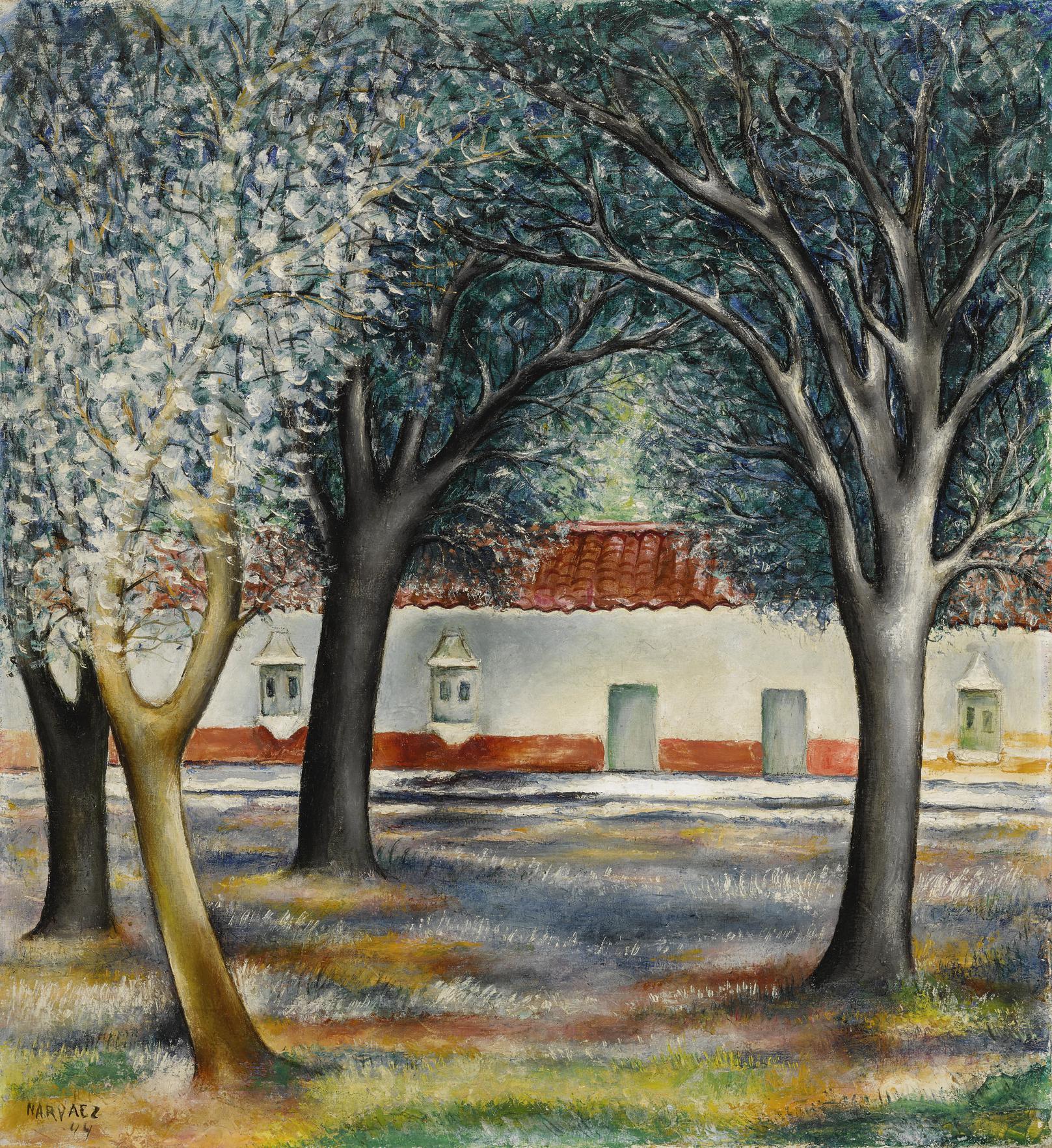 Francisco Narvaez-Paisaje-1944