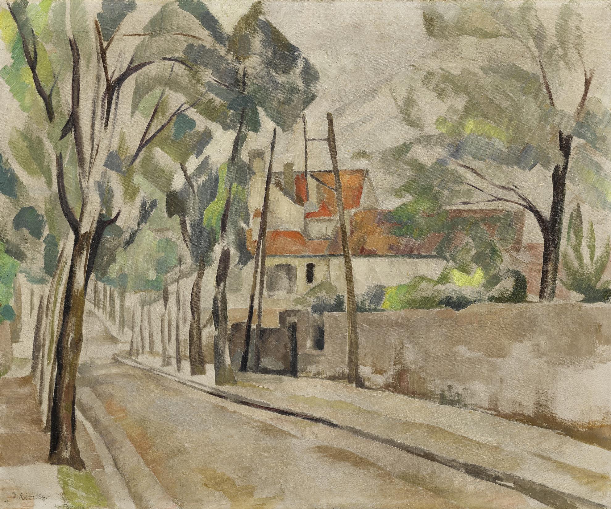 Diego Rivera-Lavenue Du Dr. Durand, Arcueil-1918