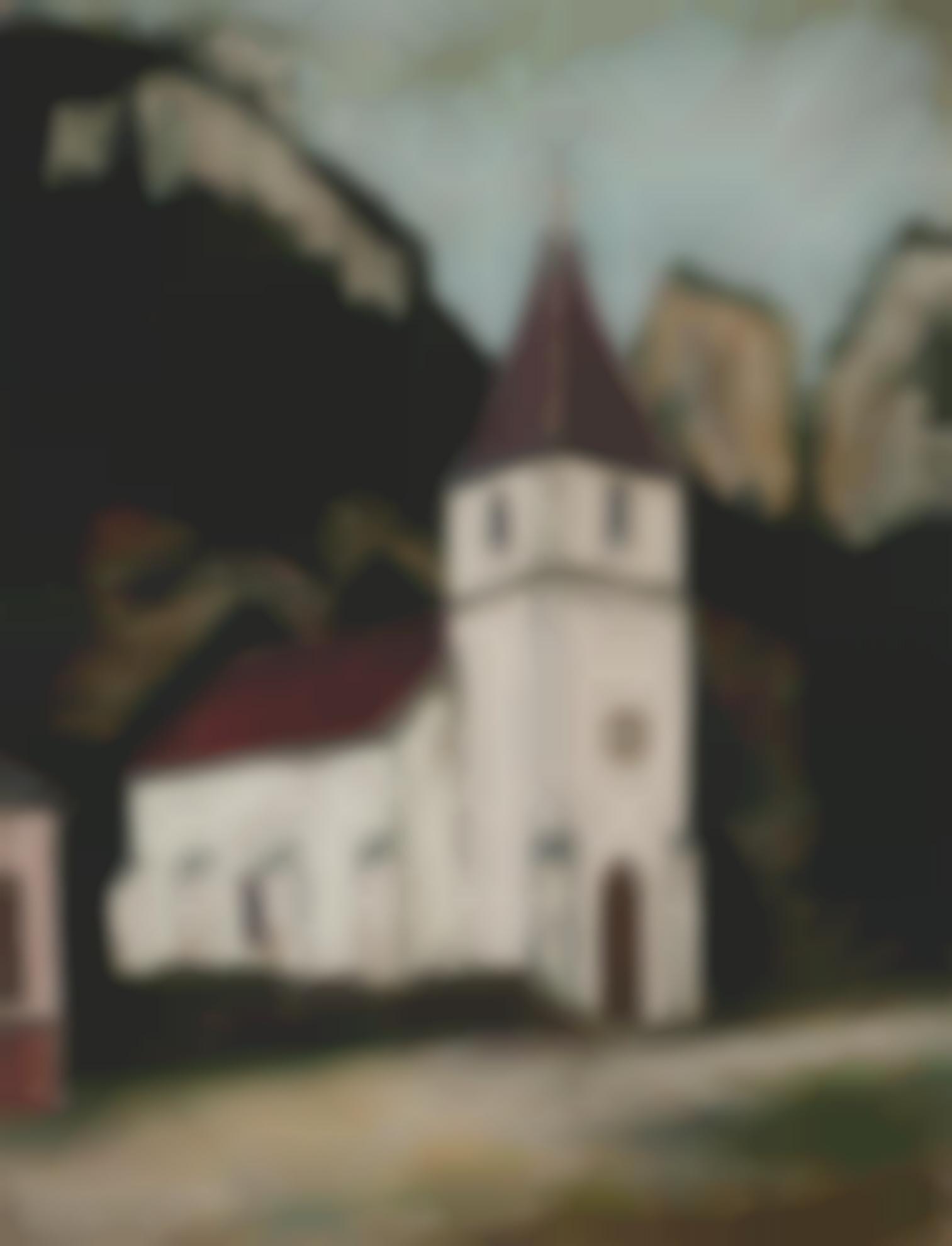 Maurice Utrillo-Eglise De Provence-1916