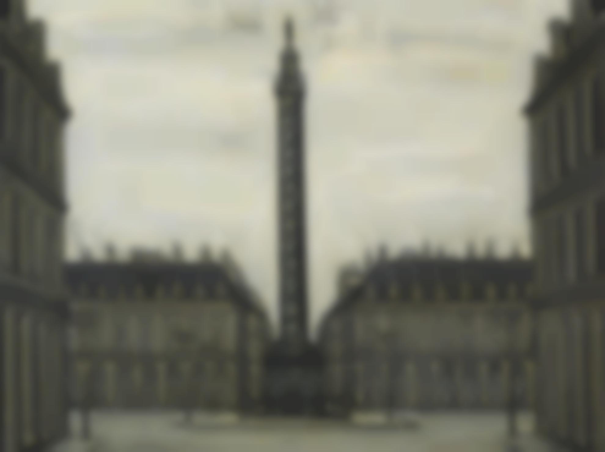 Bernard Buffet-La Place Vendome-1956
