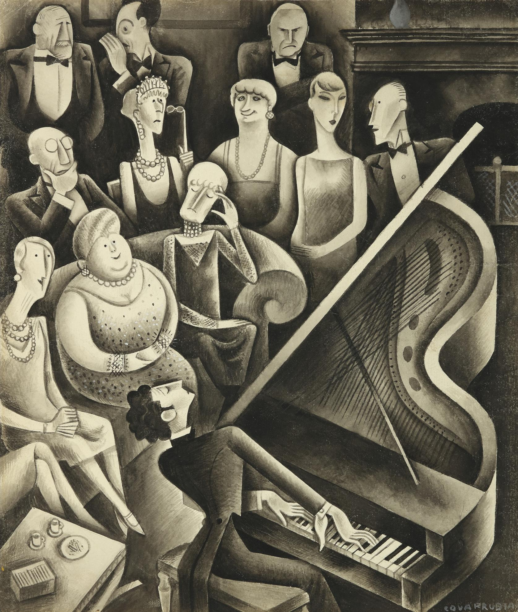 Miguel Covarrubias-A Salon Recital Of Modern Music-1929