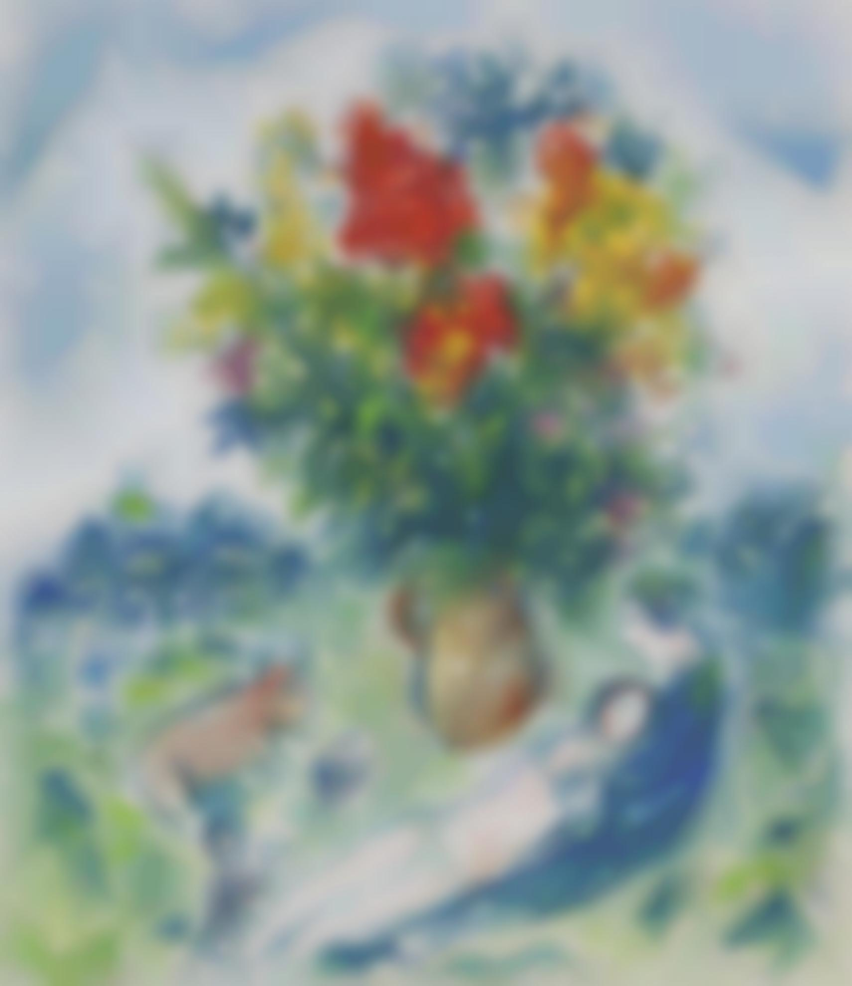 Marc Chagall-Pastorale-1978