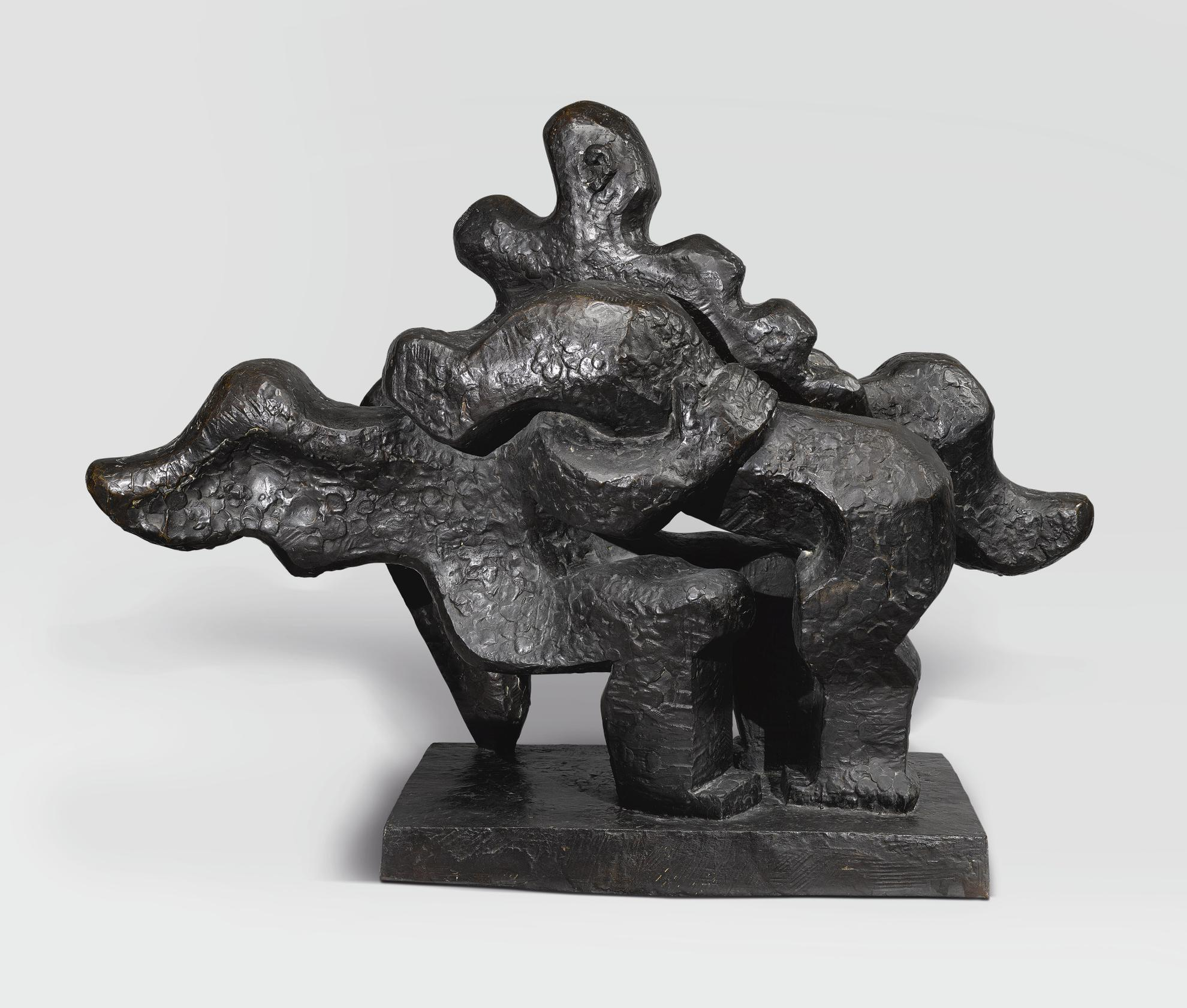Jacques Lipchitz-Jacob And The Angel-1932