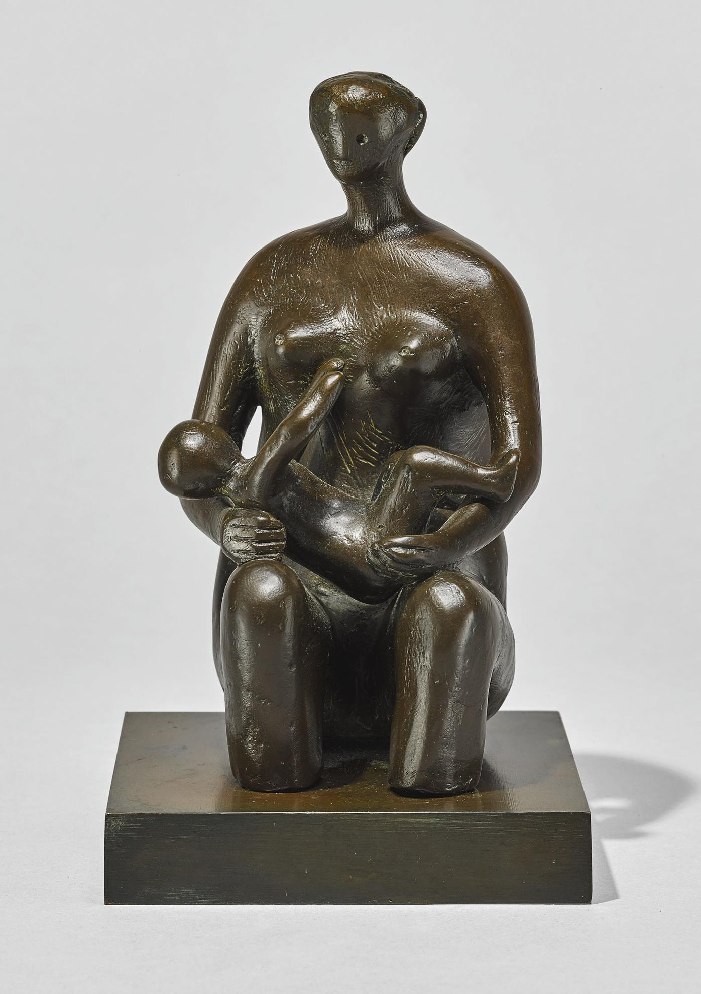 Henry Moore-Mother And Child: Round Form-1980