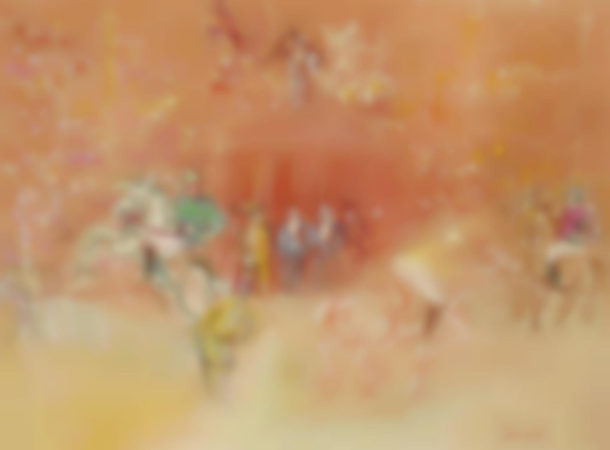 Jean Dufy-Cavalier A Lobstacle-1930
